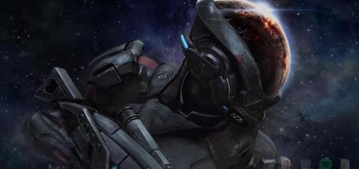 Mass Effect Andromeda живые обои скачать