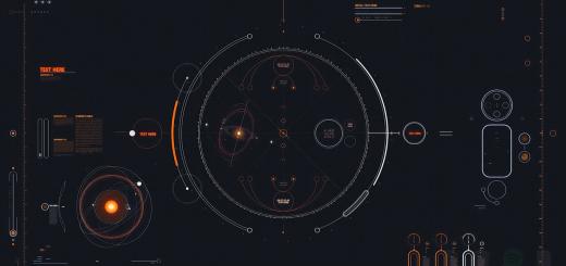 Cyber HUD скачать обои wallpaper engine