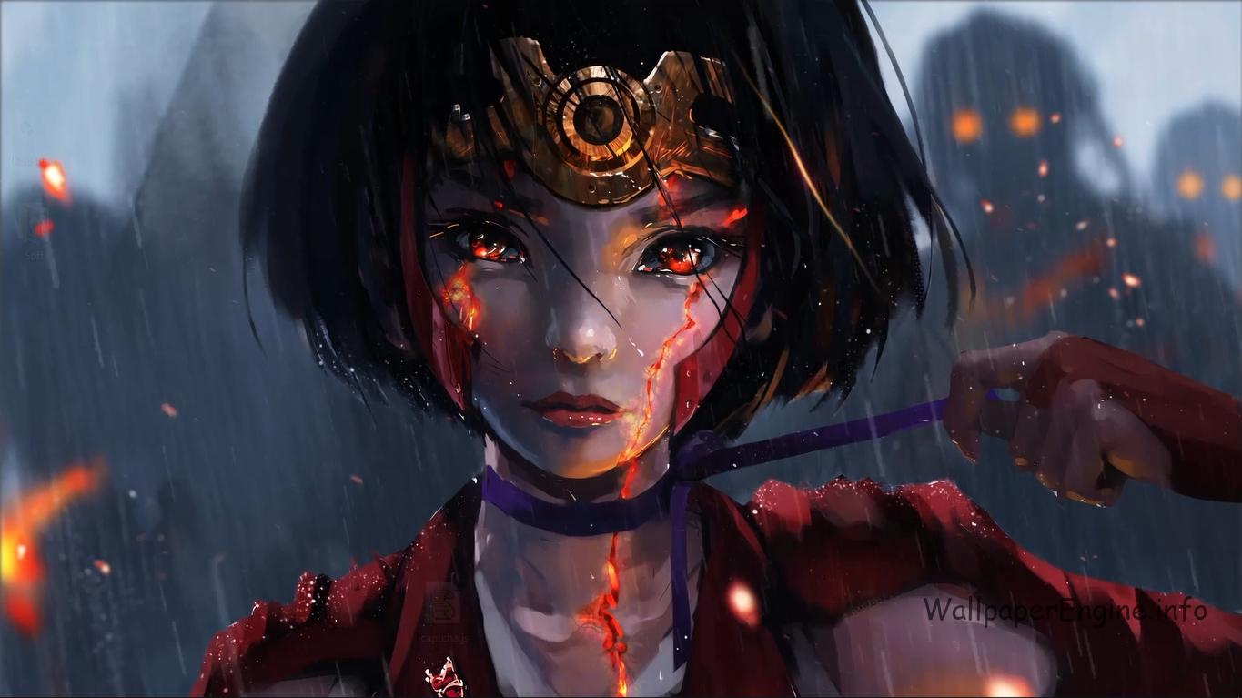 kabaneri of the iron fortress-mumei живые обои скачать