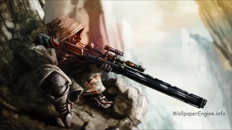 sniper скачать живые обои