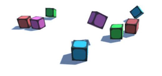 Bouncing Blocks (White)