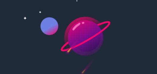 Живые обои 2D Space