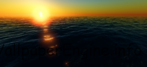 Живые обои Ocean for Wallpaper Engine