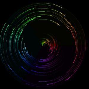 彩色螺旋 Color spiral