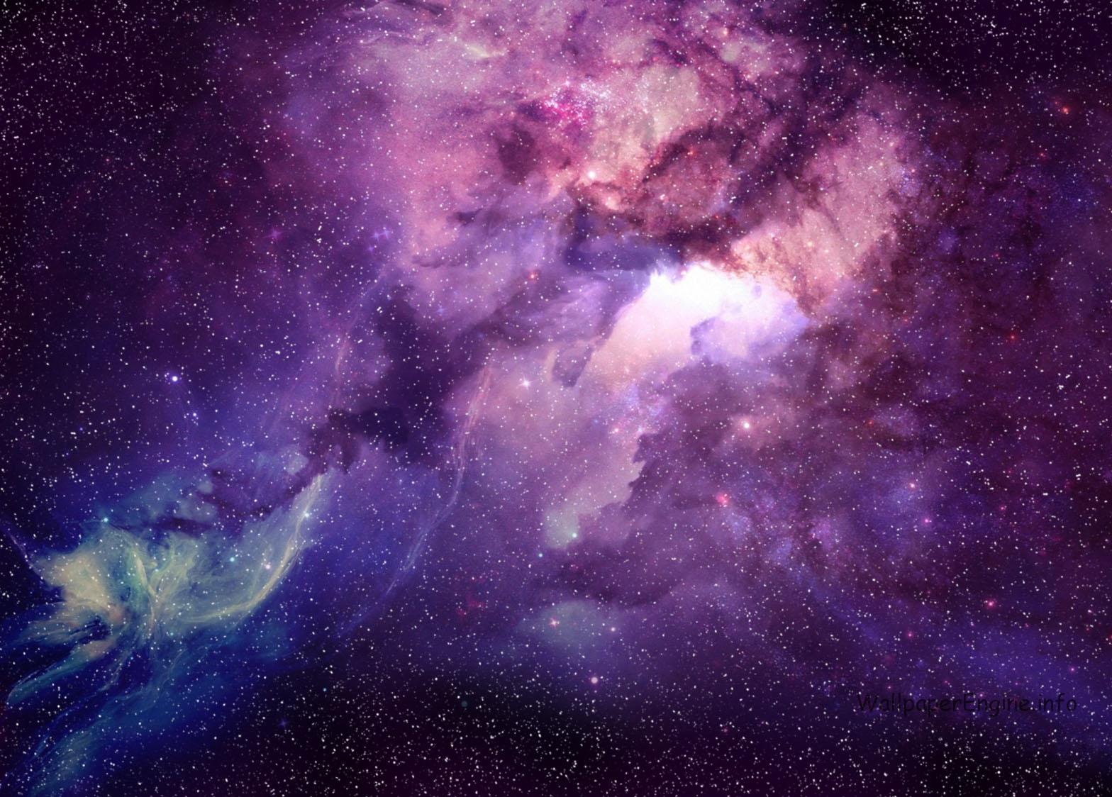 Живые обои галактика на рабочий стол