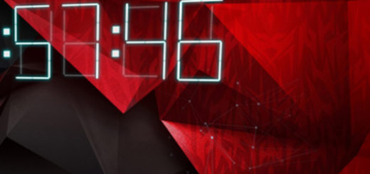 Acer Predator Wallpaper with Clock