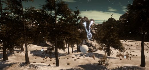 Snowball Forest (Interactive)