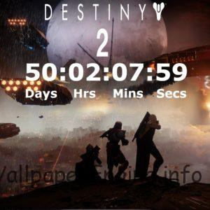 Destiny 2 Countdown