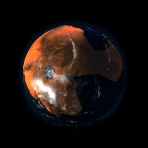 Mars with Ocean
