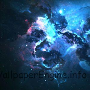 dark blue galexy