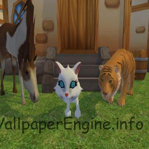Animals Partying Interactive