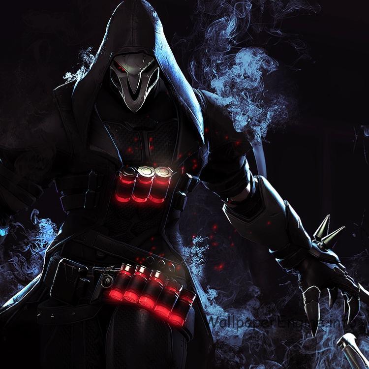 живые обои Reaper Overwatch Jasi Wallpaper Engine