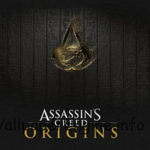Assassin's Creed Origins Desktop with LOGO