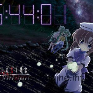 Higurashi no Naku Koro ni Clock