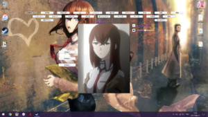Steins;Gate - Kurisu interactive wallpaper