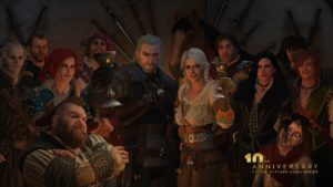 Celebrating the 10th anniversary of The Witcher!