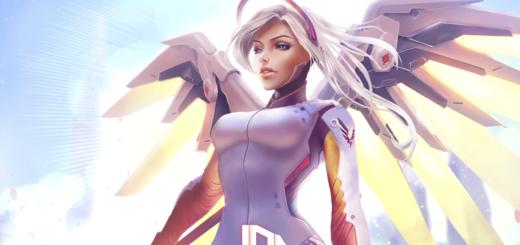 Mercy Overwatch - 1080p / 60fps Animated