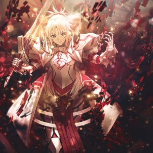 Fate Apocrypha - Saber Of Red №2