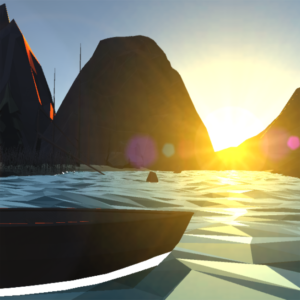 Low Poly Sunset 1.0