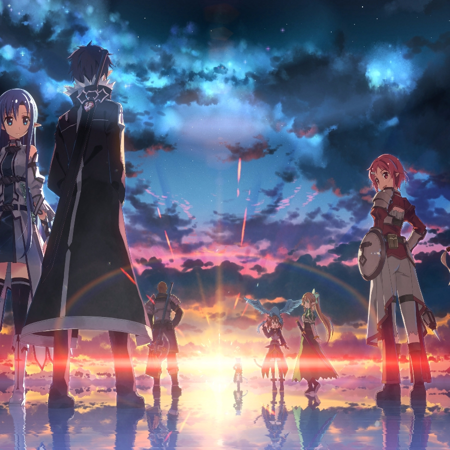 Sword Art Online Ordinal Scale (with audio) SAO