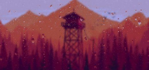 Firewatch Parallax Raindrops 2