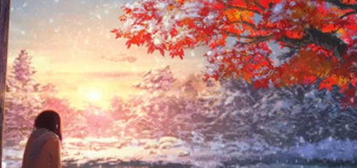 Anime Winter Snow Scenery Animated Wallpaper