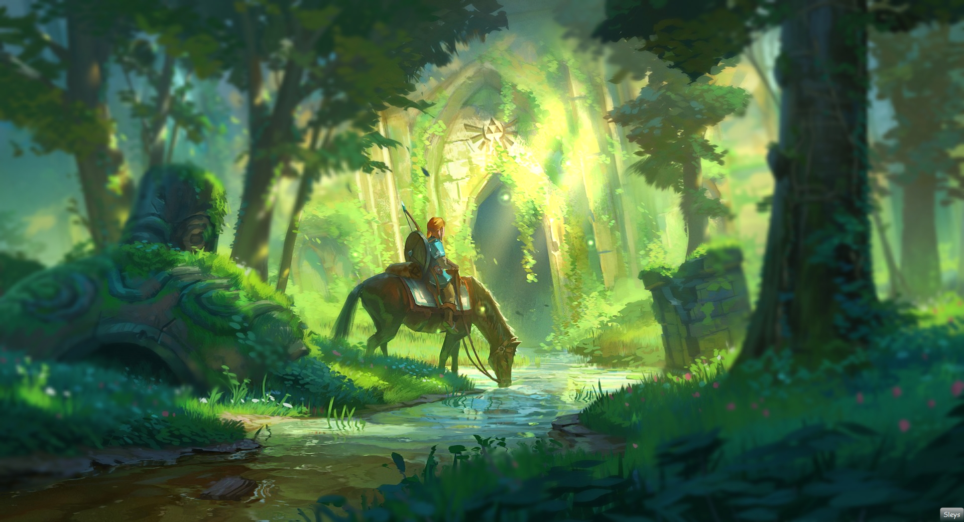 The Legend of Zelda Breath of the Wild Forest Temple
