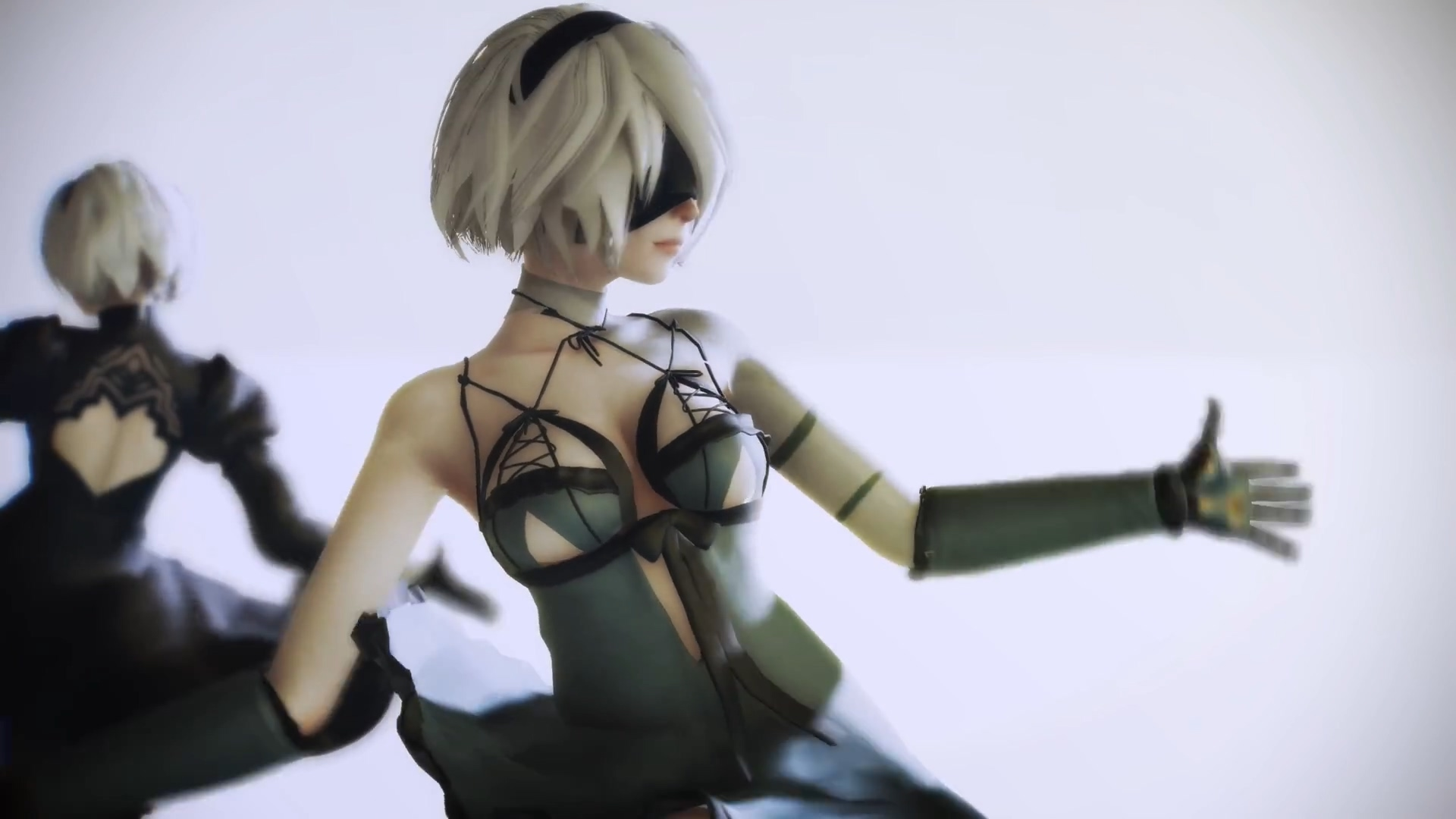 Carry【NieR Automata】2B Junjou skirt【1080P / 60FPS】