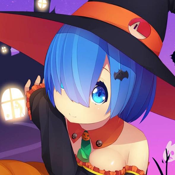 Halloween Rem (Re:Zero)