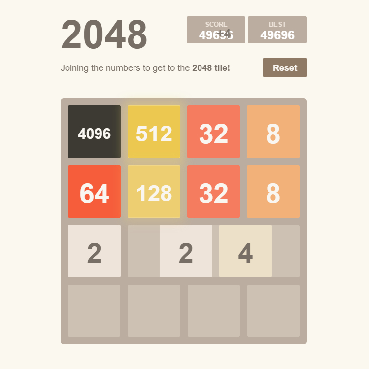 Automatic 2048