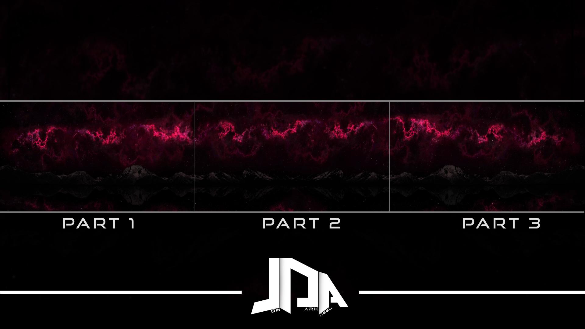 Infinite Nebula PART 2 - Triple Monitor 1080p / 60fps