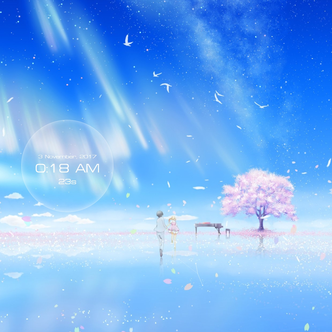 Your Lie in April Blossom Tree