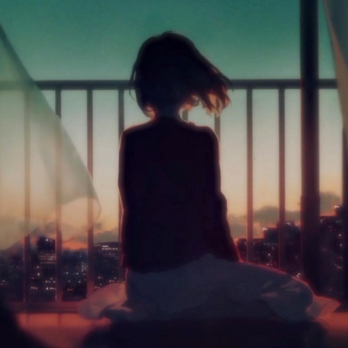 Sunset Girl Animation