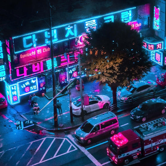 Neon Seoul [AUDIO RESPONSIVE]