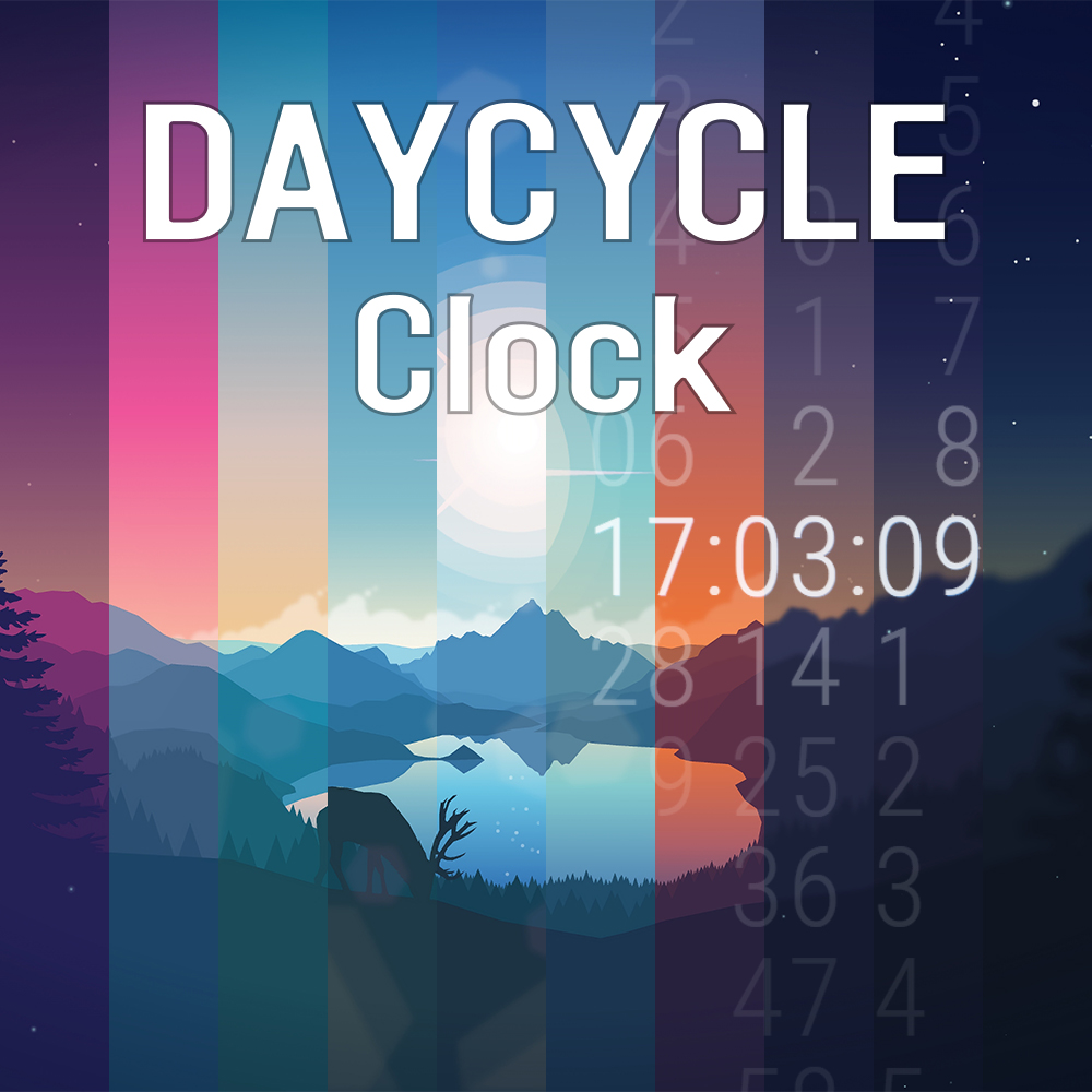 Daycycle Slide Clock
