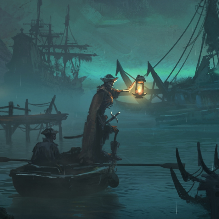 Total War: WARHAMMER II - Curse of the Vampire Coast (Custom background_1)