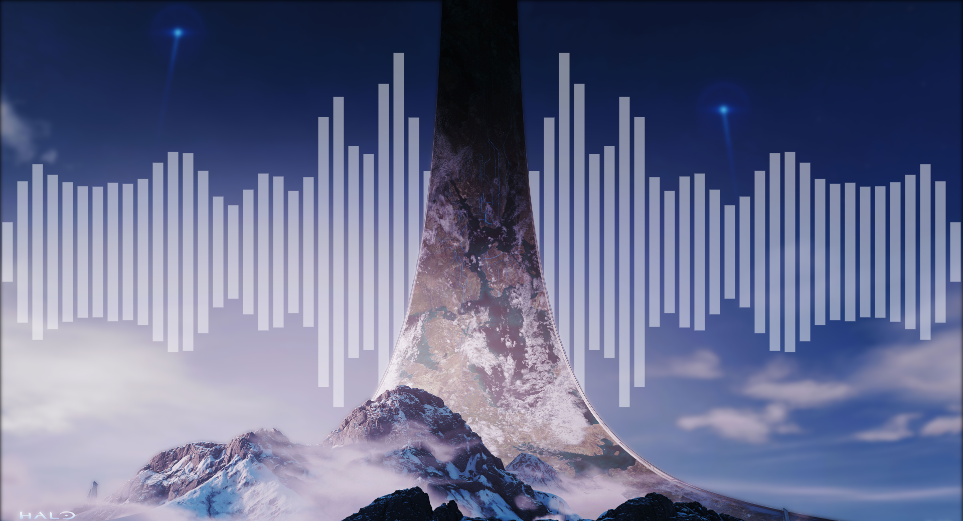 Halo Infinite Audio Visualizer