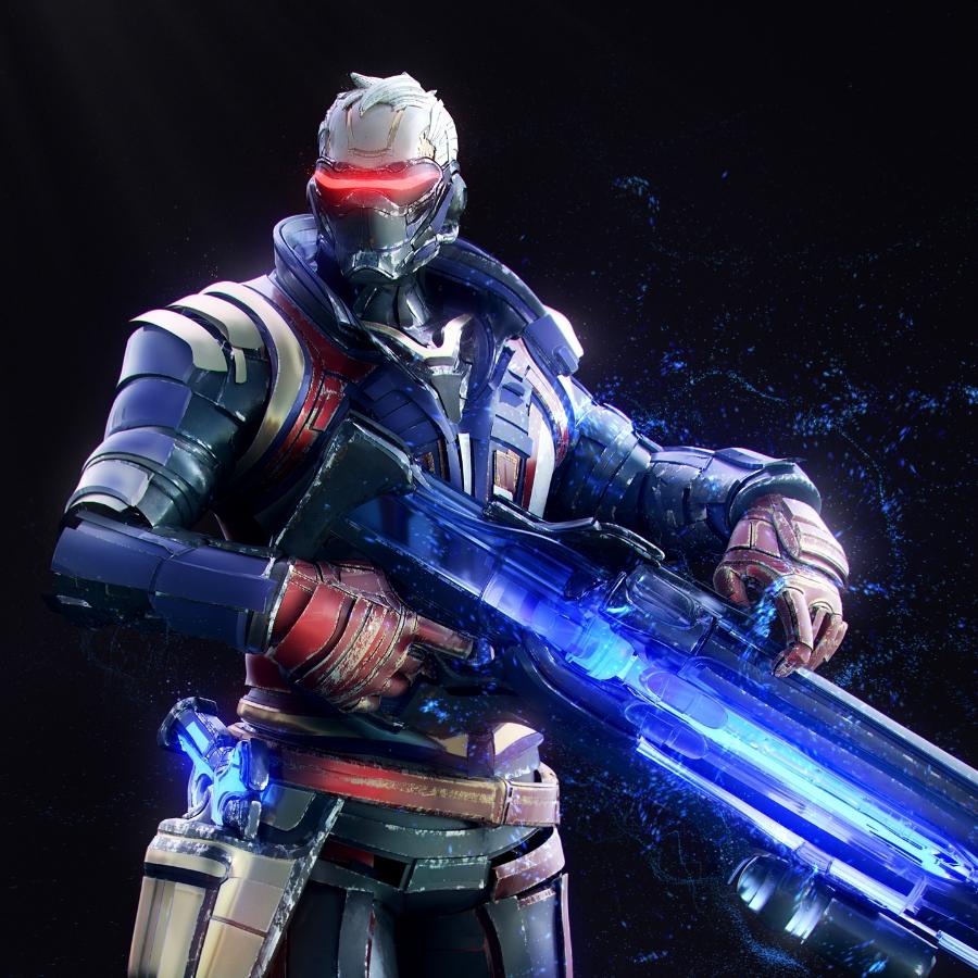 живые обои Overwatch Soldier 76 2560x1600 Wallpaper Engine
