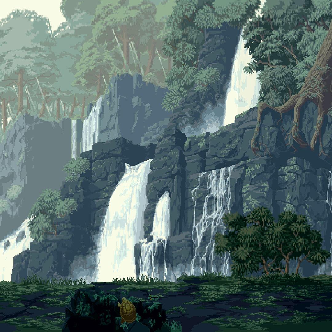 Живые обои Pixel Fight 2 - Wallpaper Engine