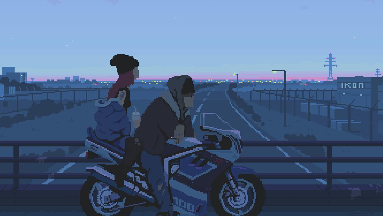 Живые обои Pixel Art Hero - Wallpaper Engine