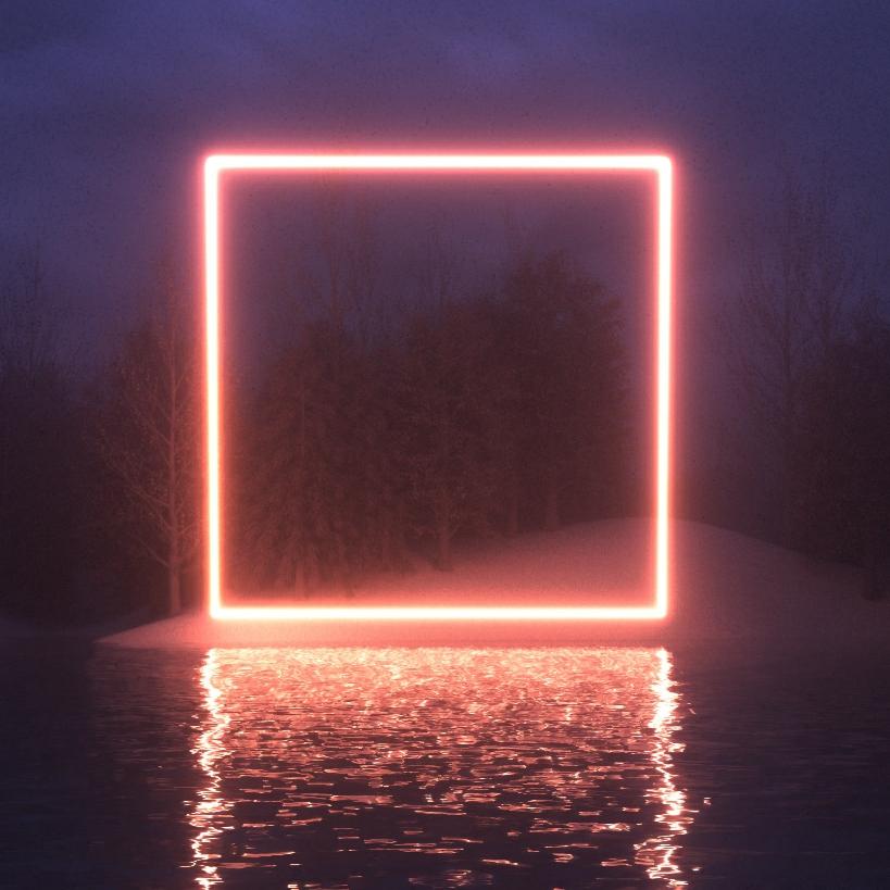 Живые обои Neon forest - Wallpaper Engine